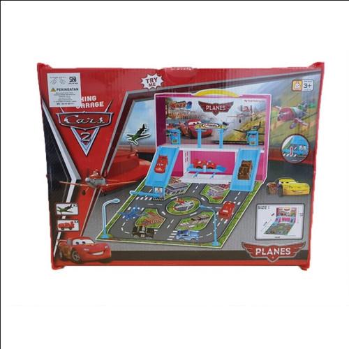 Foto Produk mainan anak mobil mobilan cars parking garage / parking set cars - cars plane dari FY STORE 77