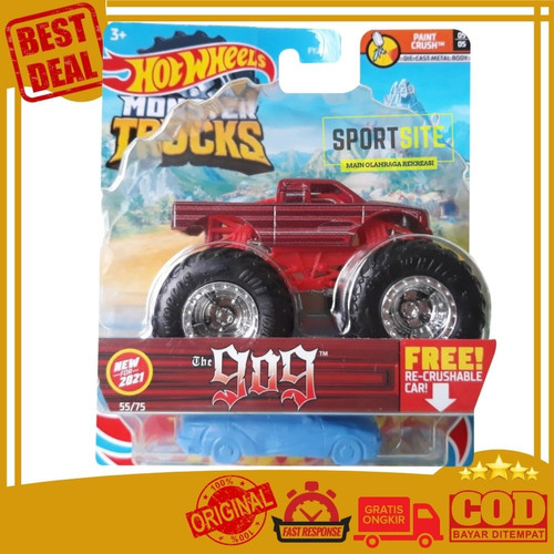 Foto Produk Hot Wheels Monster Truck. Mainan Anak Die Cast - The 909 dari Sportsite