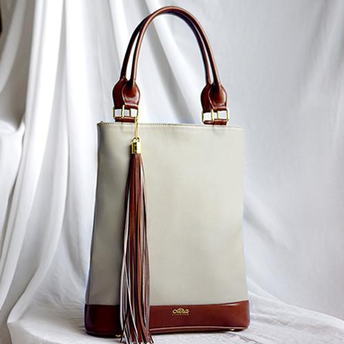 Foto Produk Tas Kyomi Kulit Premium - CreamHavana dari ALRA Life Style