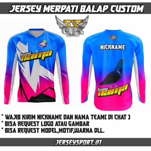 Foto Produk jersey merpati murah custom - XXXL, panjang bertopi dari JerseySport_01