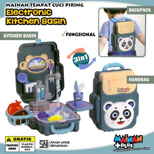 Foto Produk MAINAN EDUKASI TEMPAT CUCI PIRING ELECTRONIC KITCHEN BASIN SINK dari MainanPlus