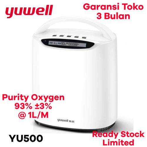 Foto Produk Yuwell YU500 Oxygen Concentrator Homecare Mesin Generator Oksigen - Yuwell YU500 dari amc_shop