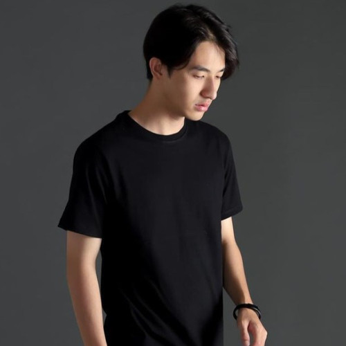 Foto Produk Ribsgold Kaos Polos Carbon V15 Cotton Combed 30s - S, Biru Muda dari Ribsgold Seller Official Looks