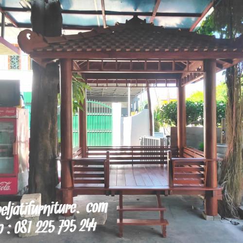Foto Produk Gazebo Kayu Kelapa/Glugu dari Mebel Jati Furniture Jepara