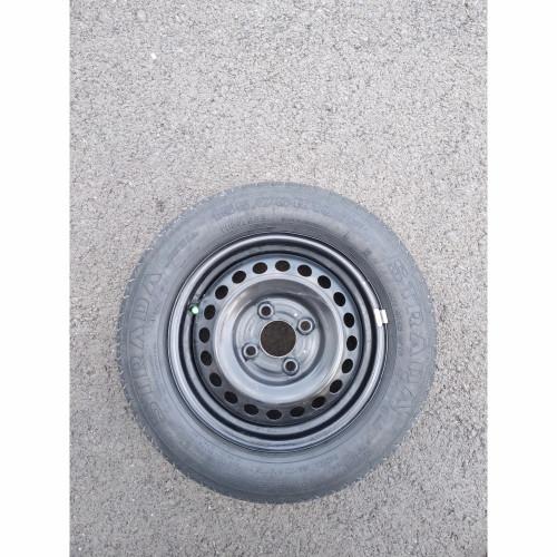 Foto Produk Velg Besi | kaleng OEM Datsun | Go | Go+ R13 PCD 100 X 4h DAN BAN dari L9 Garage