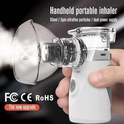 Foto Produk Tabung Oksigen Portable/Alat Uap Nebulizer/oxygen Oxigen Portable dari solusionstor