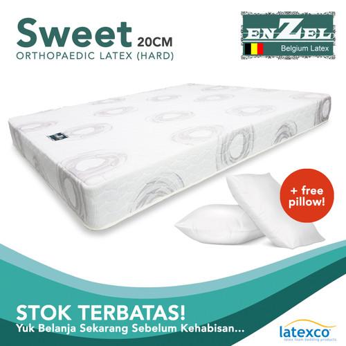 Foto Produk TERMURAH Kasur Enzel Latex Sweet 20cm Uk 100x200 dari Enzel Belgium Latex8