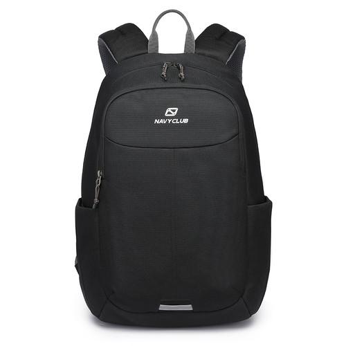 Foto Produk Navy Club Tas Ransel Kasual FAG - Tas Pria Backpack - Up To 14 Inch - Hitam dari Navy Club Official Store