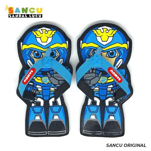 Foto Produk Sancu Sandal Anak Lucu Bergambar Robot Sancu - 21 dari Sancu Official