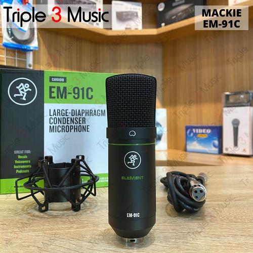 Foto Produk Mackie EM-91C EM91C Mic Condenser XLR Original dari triple3music