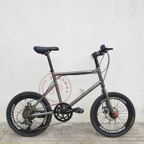 Foto Produk Sepeda Mini Velo 20 Senator - Kuning dari yugowes