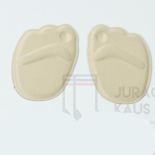 Foto Produk Insole Sepatu Wanita 4D Sol Dalam Soft Pad Bantalan Kaki Flat Shoes - 4D Pad Krem dari Juragan kaus kaki