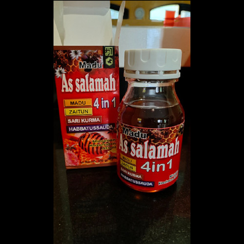 Foto Produk Madu 4 in 1 As salamah (Madu, Zaitun, Sarikurma, Habbatussauda) dari Rinrin ORI