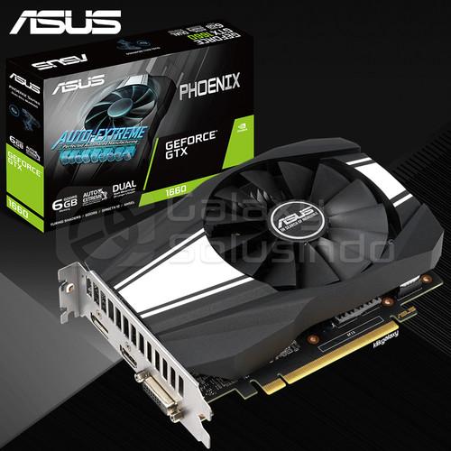 Foto Produk ASUS Phoenix GeForce GTX 1660 6GB GDDR5 - VGA GTX1660 DDR5 dari GASOL SUMBERSARI