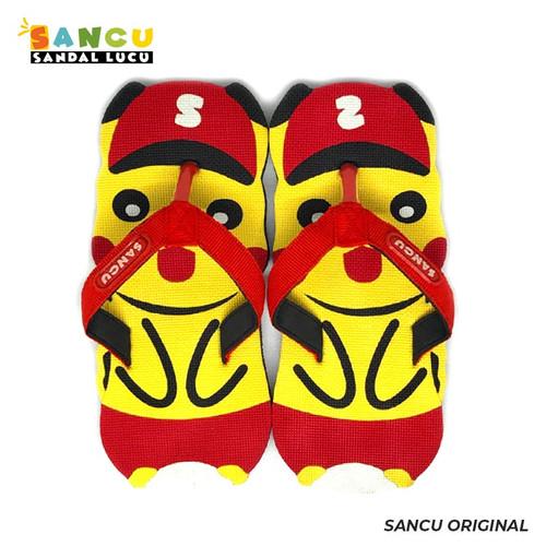 Foto Produk Sancu Sandal Anak Lucu Bergambar Pika-pika - 21 dari Sancu Official