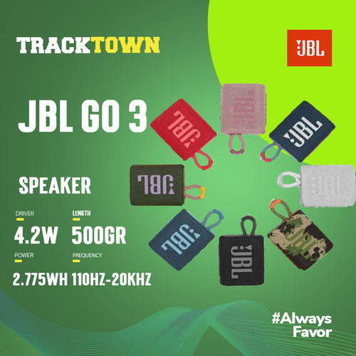 Foto Produk JBL GO 3 - Hijau dari tracktown