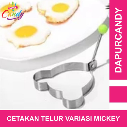 Foto Produk FunBaking - CETAKAN TELUR CEPLOK TELOR MATA SAPI/ BUNGA BINTANG MICKEY - Micki Tikus dari FunBaking