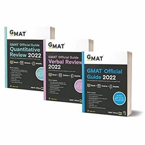Foto Produk Paket 3 Buku GMAT Official Guide, Verbal and Quantitative 2022 dari SilabusBookstore