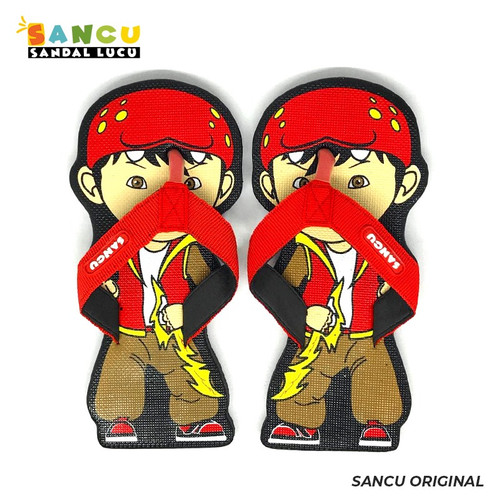 Foto Produk Sancu Sandal Anak Lucu Bergambar B-Boy - 21 dari Sancu Official