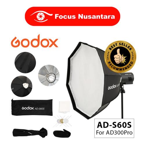 Foto Produk GODOX AD-S60S Umbrella Style Softbox Godox Mount for AD300Pro dari Focus Nusantara