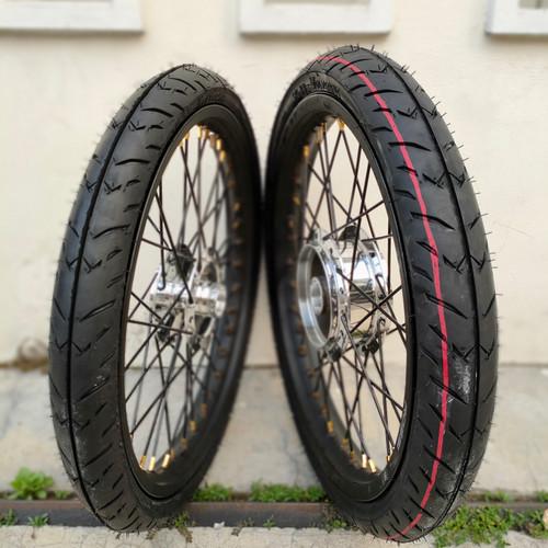 Foto Produk Sepaket Velg Plus Ban Jupiter Z Mx Vega Supra 125 Karisma Blade + Ban dari Jaya/asiamotor