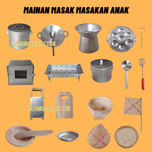 Foto Produk Masak Masakan Mini Set Lengkap 20 Item Kompor Oven Mini Anak Anak - Tanpa Kompor dari BATAMIA COLLECTION