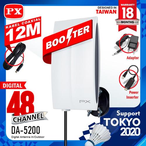 Foto Produk Antena TV Digital Indoor / Outdoor PX DA5200 DA-5200 DA 5200 dari dyfa bandung