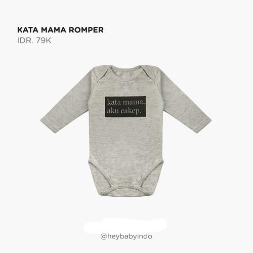 Foto Produk Hey Baby Kata Mama Romper Jumper Bayi - 3-6 Bulan dari Hey! Baby