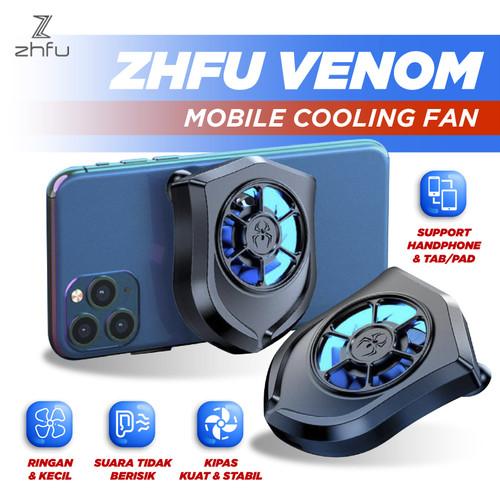 Foto Produk ZHFU VENOM MOBILE COOLING FAN KIPAS PENDINGIN HANDPHONE UNIVERSAL PUBG dari ZHFU INDONESIA