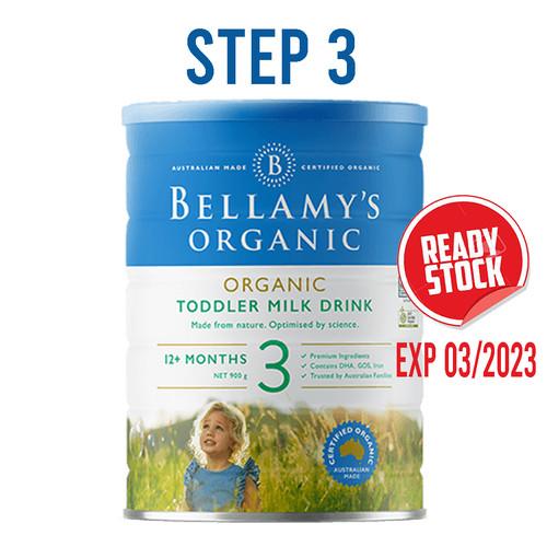Foto Produk Bellamy's Bellamys Organic Infant Formula 900g step 1 step 2 step 3 dari Baby Corner Indonesia