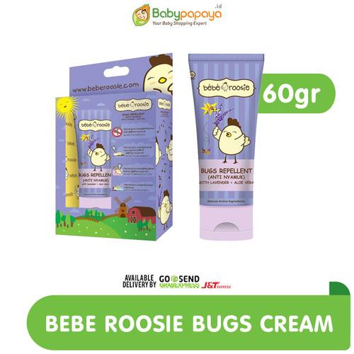 Foto Produk Bebe Roosie Bugs Repellant Cream 60g dari Babypapayaid