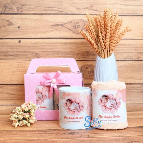 Foto Produk Souvenir baby born / souvenir manyue / hampers one month dari Selly Hampers
