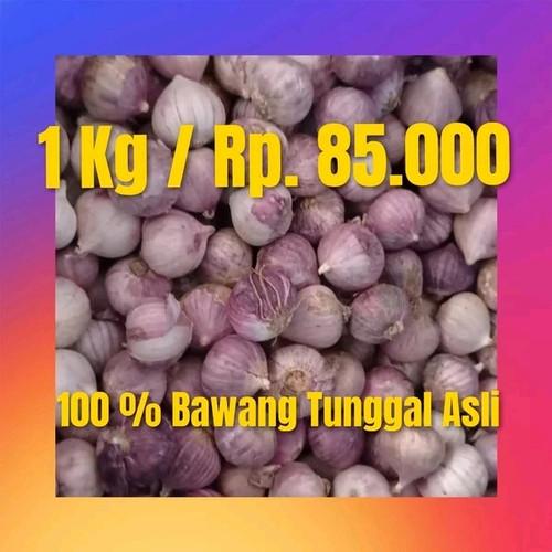 Foto Produk bawang putih tunggal 1 kg - sedang dari Tresno bawang