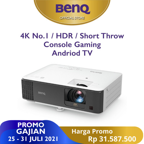 Foto Produk Home Gaming Projector TK700STI 4K HDR 3000 lm Android TV Short Throw dari BenQ Official Store