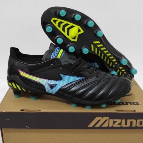 Foto Produk SEPATU BOLA MIZUNO MORELIA NEO3 BLACK MULTICOLOR FG-SEPATU BOLA MIZUNO - 39 dari sepatuimport7