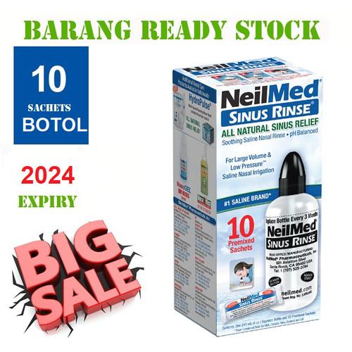 Foto Produk NEILMED Sinus Rinse Starter Kit with 10 Packets dari Health House Indonesia