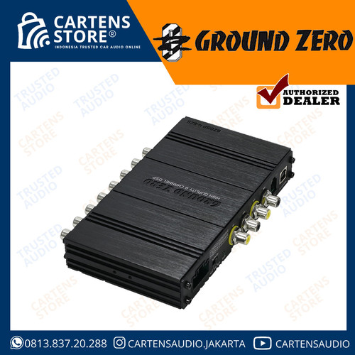 Foto Produk DSP Processor Mobil Ground Zero GZDSP 4-8X-II by Cartens Store dari Cartens Store