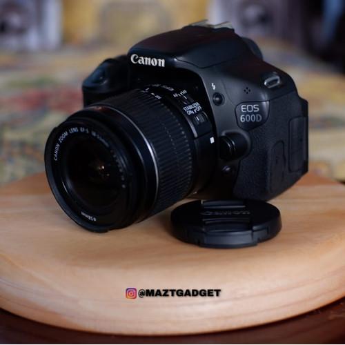 Foto Produk Canon 600d Lensa 18-55mm Istimewa dari MAZTGADGET