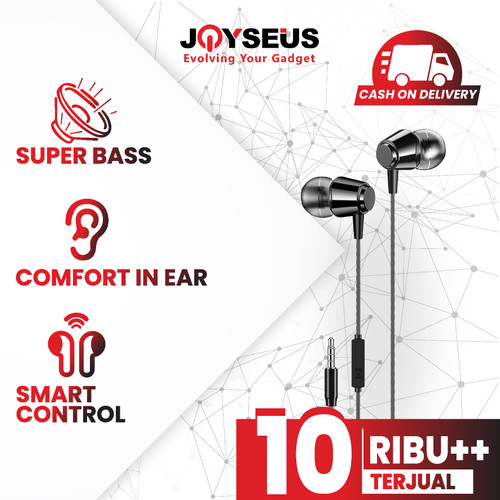 Foto Produk JOYSEUS In-Ear Earphone For iPhone HIFI Bass Stereo Wired - EP0014 dari Joyseus Official Store