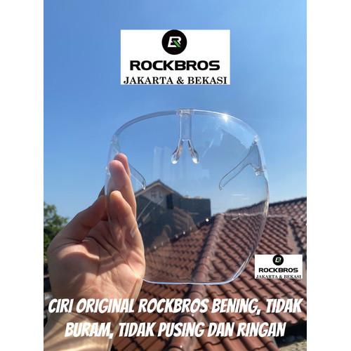 Foto Produk Face Shield Blocc Acrylic Premium Kacamata Raffi Nagita Akrilik Masker - Bening dari Rockbros Jakarta & Bekasi