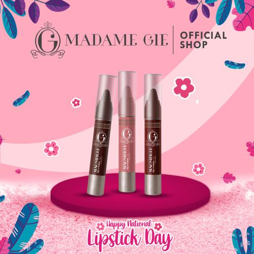 Foto Produk Madame Gie Magnifique Lip Crayon Satin - Lipstik - Flushed dari Madame Gie Official