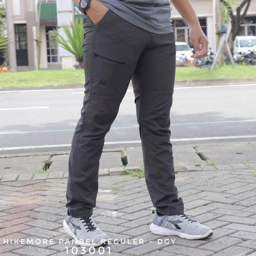 Foto Produk Celana Gunung Quick Dry Outdoor Pria Setara Consina Original Black - HM Dark Grey, Panbel Reg - M dari Riung Adventure