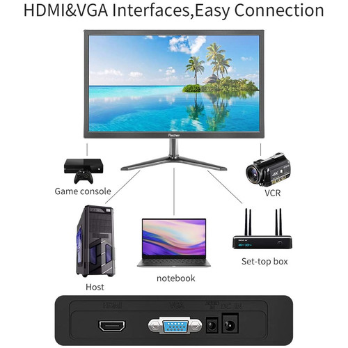 Foto Produk LED Monitor 19 inch Display Full HD - HDMI - VGA - Kenowa 19 inch dari EtalaseBelanja