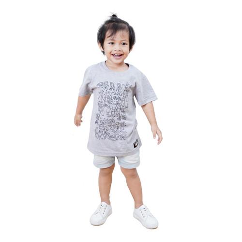 Foto Produk Kaos Dagadu Bocah Adik Official - KLPD Prakanca - S dari Dagadu Official Shop