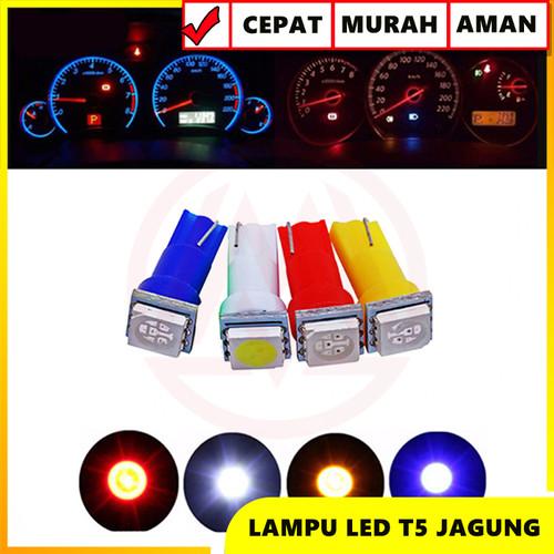 Foto Produk LAMPU LED T5 SPEEDOMETER SPEEDO PANEL DASHBOARD MOBIL SUPER BRIGHT - Merah dari Modifikasi Market