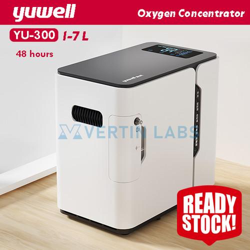 Foto Produk Oksigen Konsentrator Mesin Generator Oksigen 1-7L YUWELL YU-300 dari VERTIN Labs