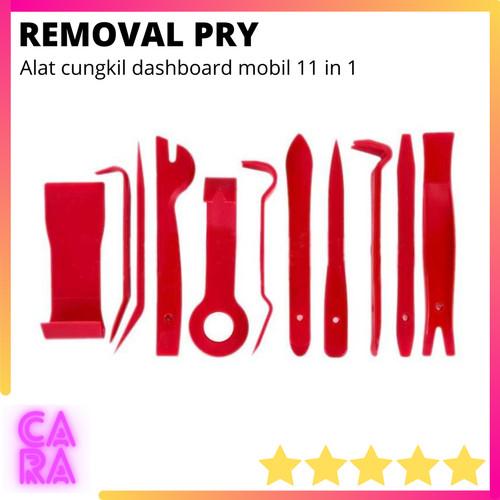 Foto Produk Alat Cungkil Dasboard Interior Mobil 11 in 1 Removal Pry Tool G182439 dari CARA Store