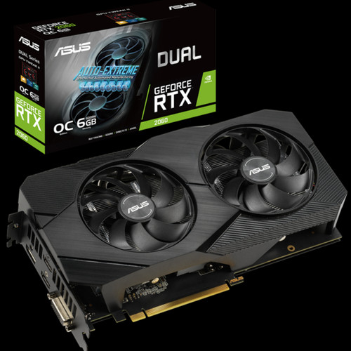 Foto Produk ASUS Dual GeForce RTX 2060 OC EVO 6GB GDDR6 dari WMC iMEDIA