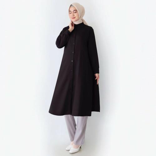 Foto Produk Luna Tunik By. Mayzaa - Black, M dari Mayzaa
