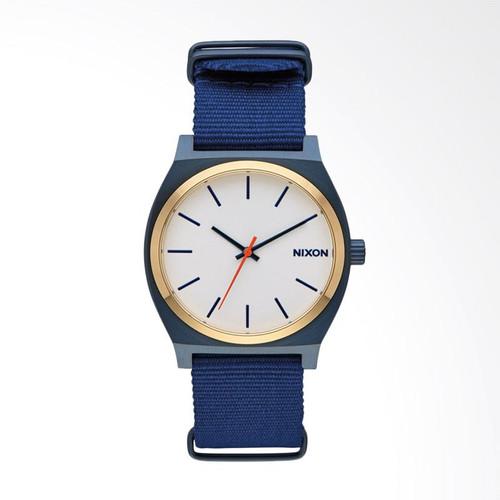 Foto Produk Jam Nixon Time Teller A0452452 Blue gold white Original dari Gudang Jam SUPERCENTER
